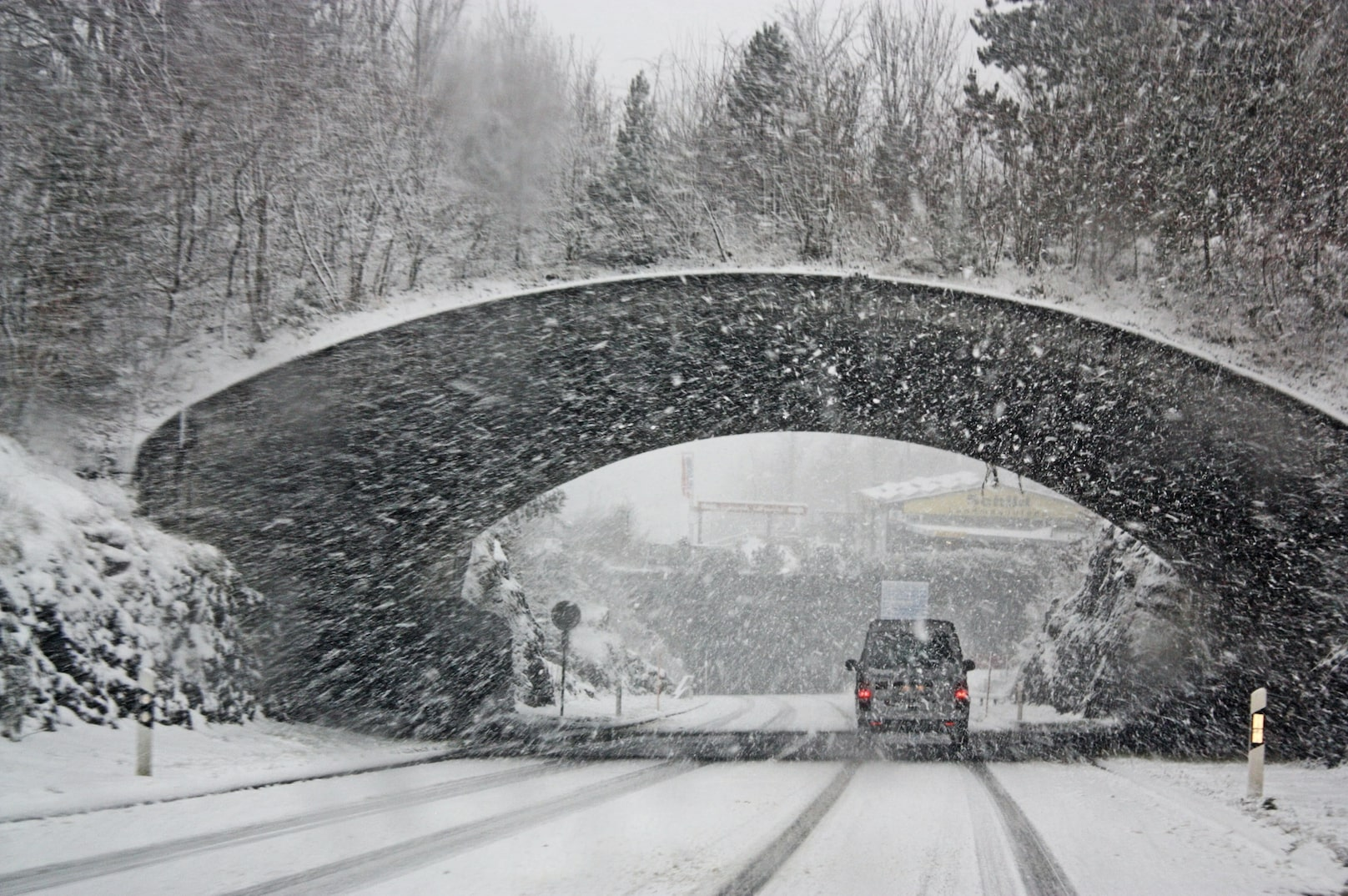 Bad weather and wedding cancellations image