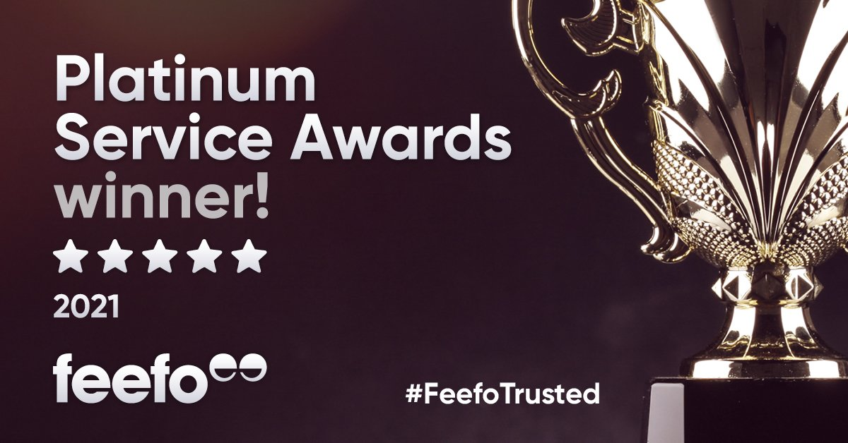 Wedinsure receives Feefo Platinum Trusted Service Award 2021